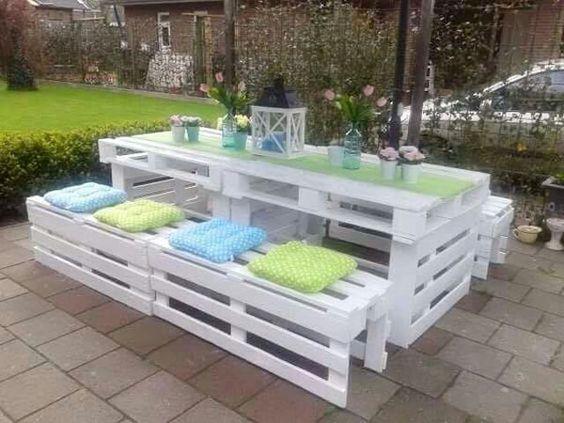 salon de jardin palettes