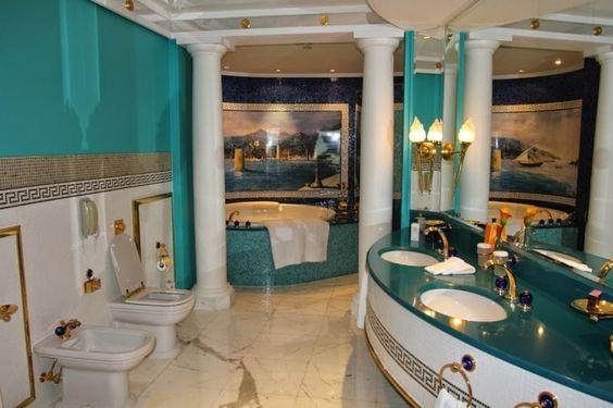 salles de bain insolites orientale