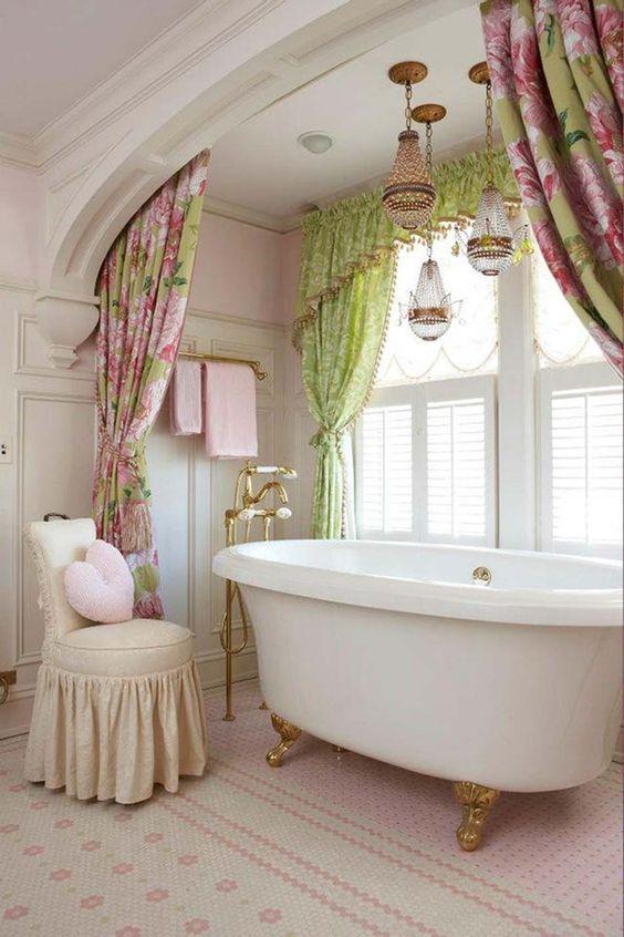 salles de bains insolites vintage