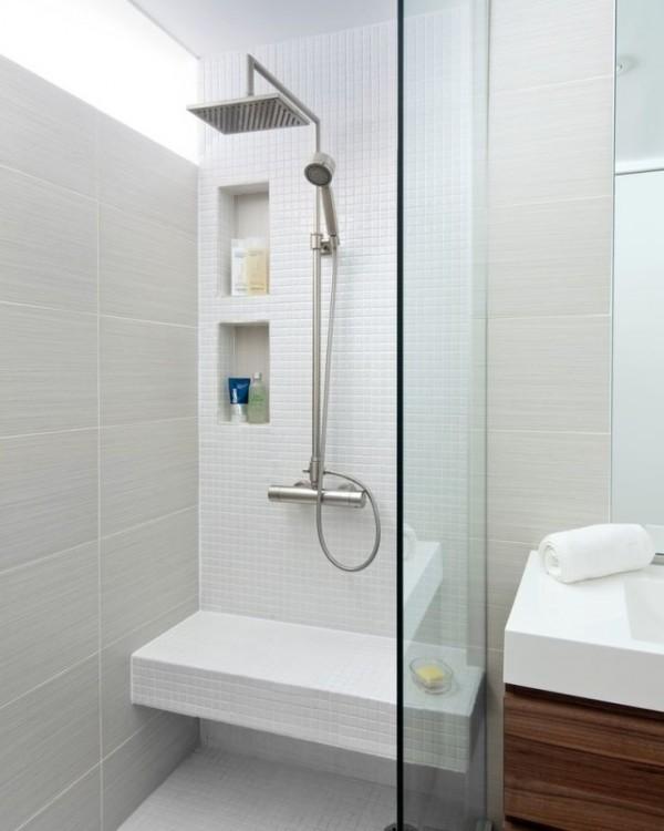 amenagement-petite-salle-de-bain-douche-pluie