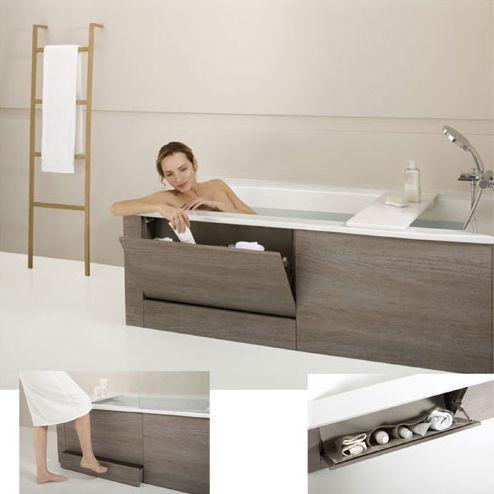 comment gagner de la place dans une petite salle de bain. Black Bedroom Furniture Sets. Home Design Ideas