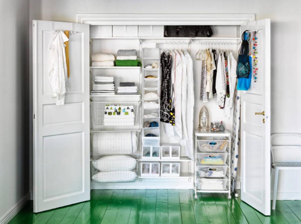 optimiser l'espace dressing