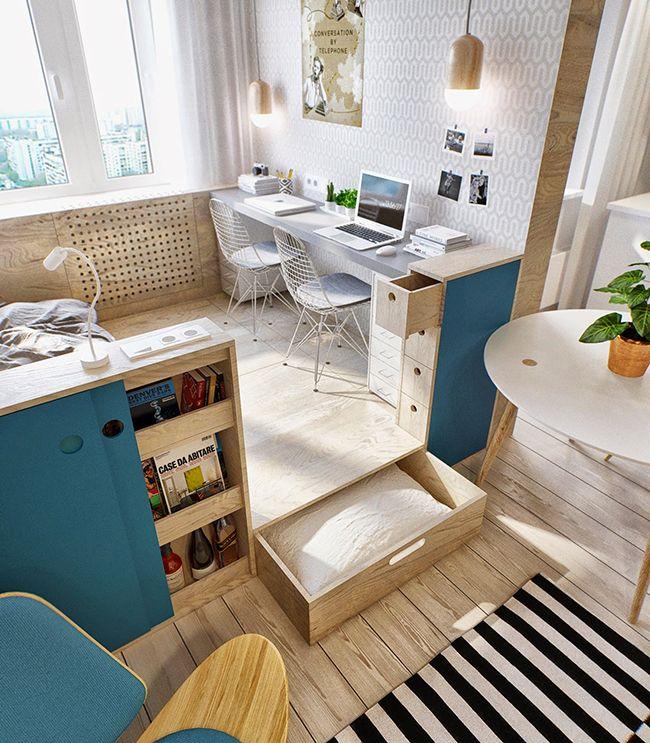 optimiser l'espace petit appartement.2
