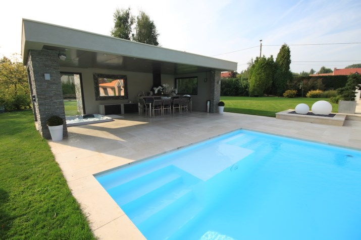 Pool house 2 le mag - Photos pool house piscine ...