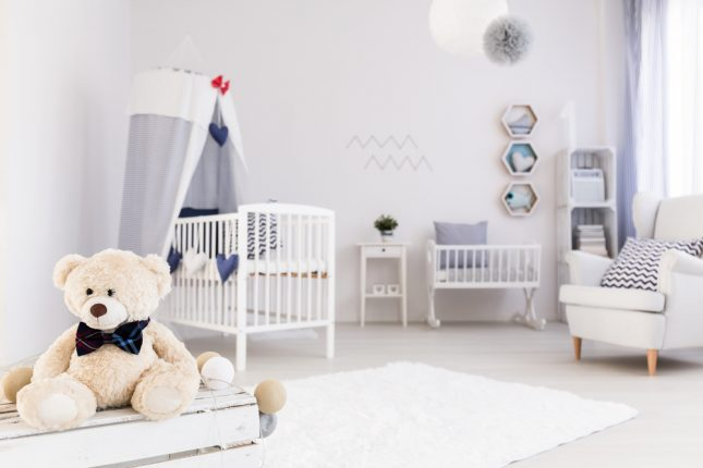 chambre d'enfant couleurs
