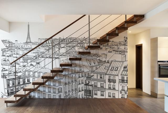 comment sublimer la d coration dans votre escalier. Black Bedroom Furniture Sets. Home Design Ideas